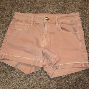 Pink American Eagle Shorts